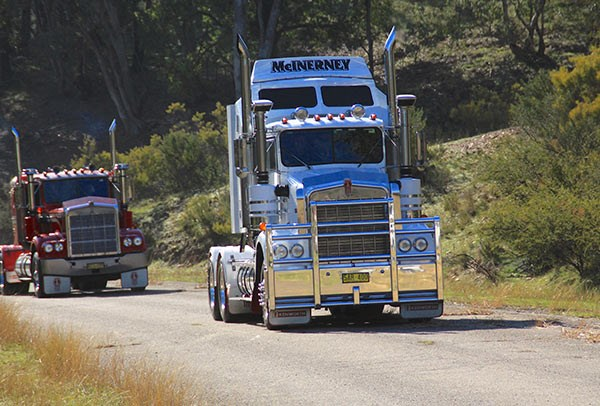 A McInerney Kenworth from Tumut.