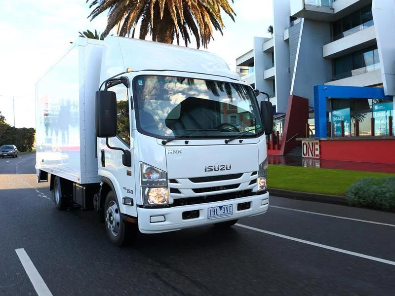 Isuzu N Series 2016 Update TC AMT Humphries TradeTrucks3