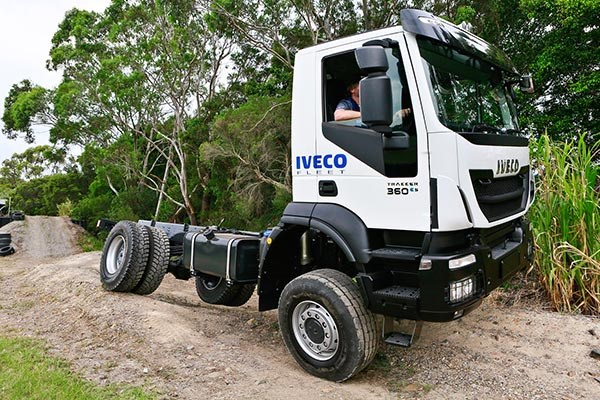 Iveco Trakker 4x4 launch TradeTrucks2