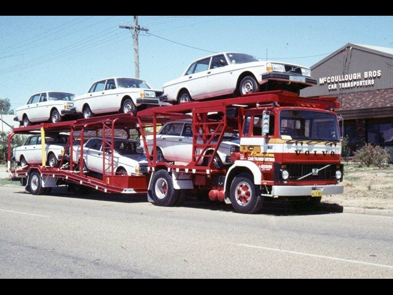 McCoullough Bros specialised in car carrying.