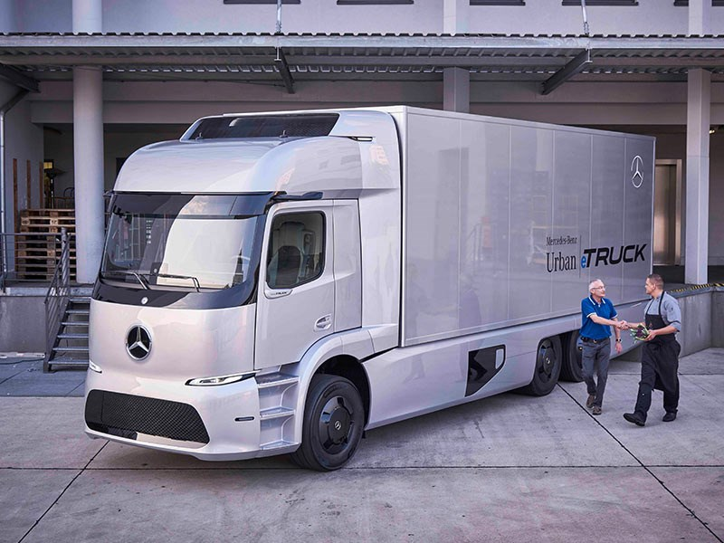 Mercedes Benz Urban eTruck Launch IAA TradeTrucks2