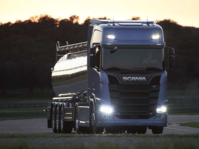 New Scania Launch Paris Truck Henriksson TradeTrucks