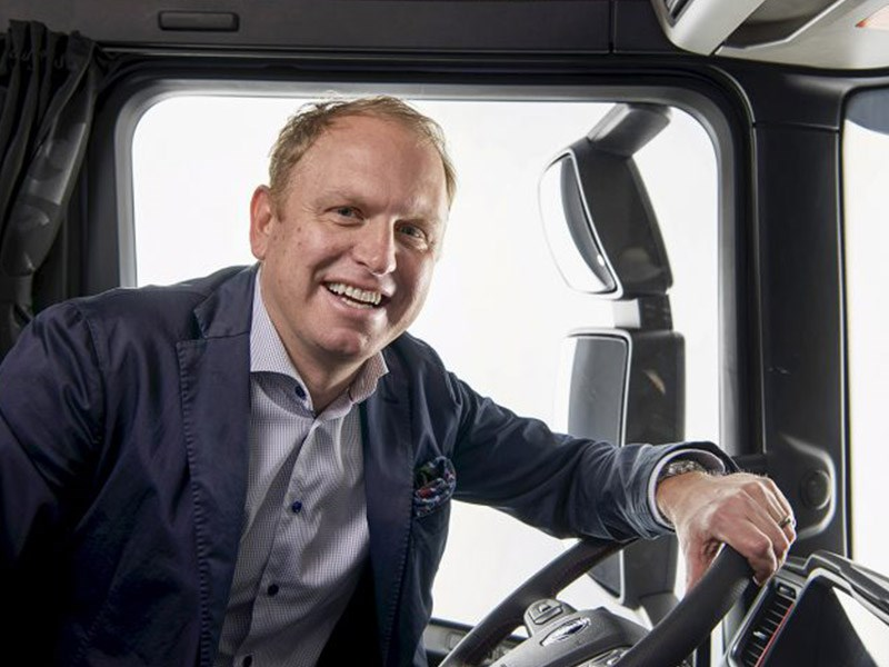Scania president and CEO Henrik Henriksson.