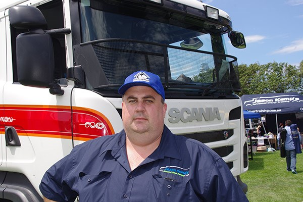 Driver trainer and Transport Awareness Day committee man Jason Kemp.
