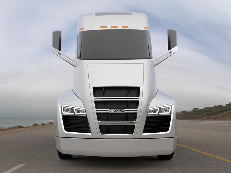 Nikola One Truck Launch Electric TradeTrucks