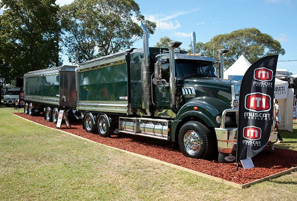 Muscat Trailers was voted the Best Trade Display stand. Photo: Brent Harrison.