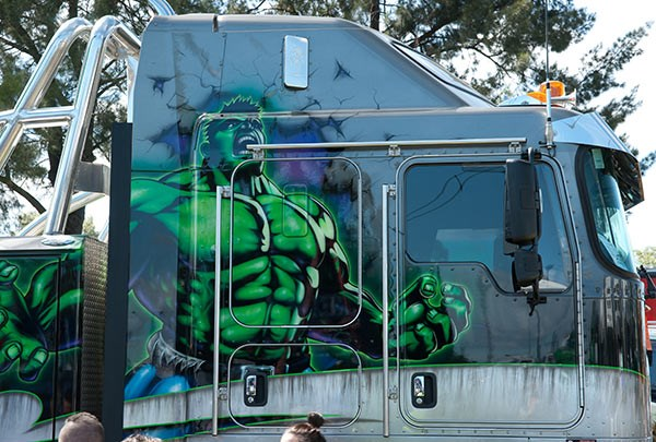 GRS Towing, who won the Best Specialised (2012-2015) award, brought The Hulk along. Photo: Brent Harrison.