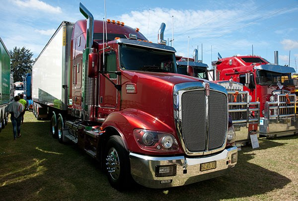 NRT's 2011 Kenworth rig was voted Best Pantech Trailer up to 2011. Photo: Brent Harrison.