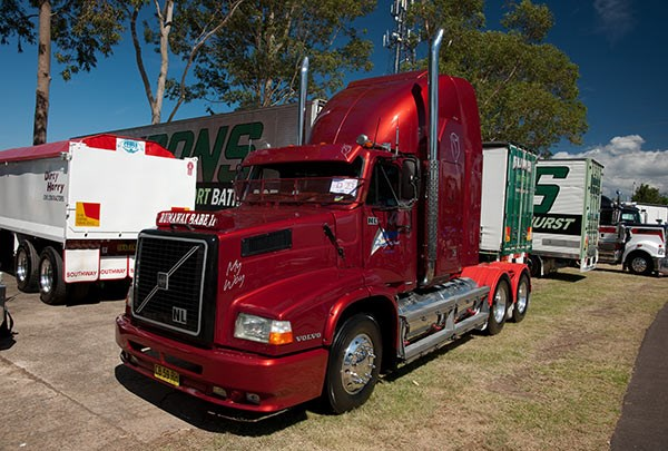 Mohan Freight won the Best Volvo award. Photo: Brent Harrison.
