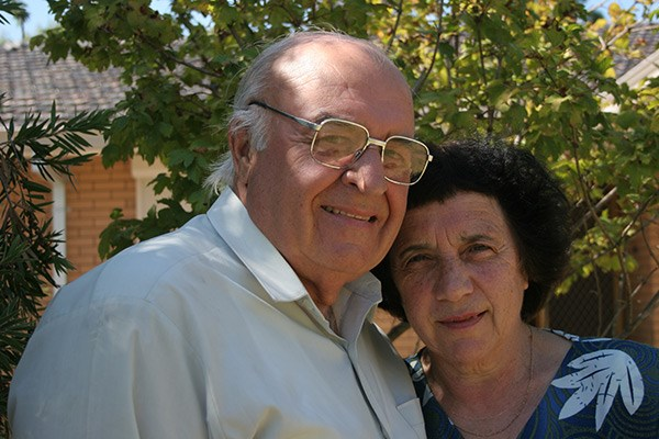 Sam and Nina Sali have been married for 53 years.
