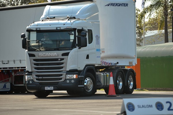 Shots from the 2014 Scania Driver Competitions.