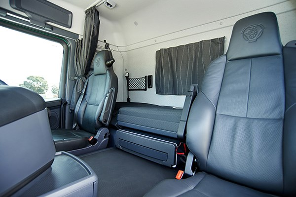The G Series cab makes it a pretty good all-rounder. Enough room for a snooze or the occasional night away.