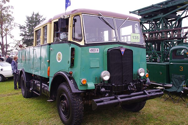 This 1942 AEC Matador 0853 was on the hunt for broken down buses.