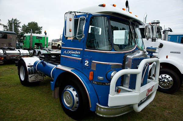 This Foden boasted Rolls-Royce power. Photo by Brent Harrison.