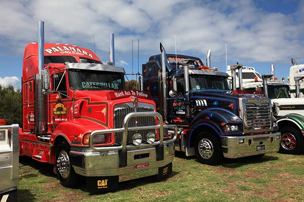 Palamara Village Fruits' Kenworth T401 won the Best Prime Mover 11 to 16 years trophy.
