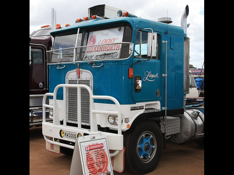 This 1974 K125 was the 1,000th Kenworth to be made in Australia.