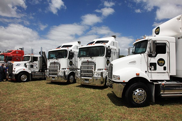 The Victorian Freight Specialists line-up.
