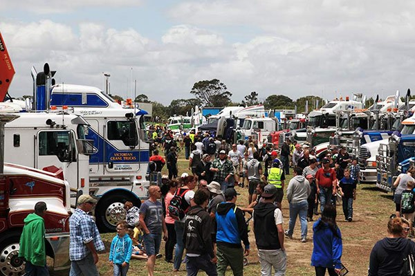 More than 5,000 people attended the big Tooradin event.