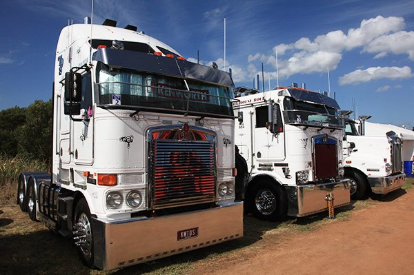 TDS Haulage was voted Best Fleet (3 trucks or more).