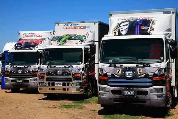 Pro Boost Logistics' three UDs.