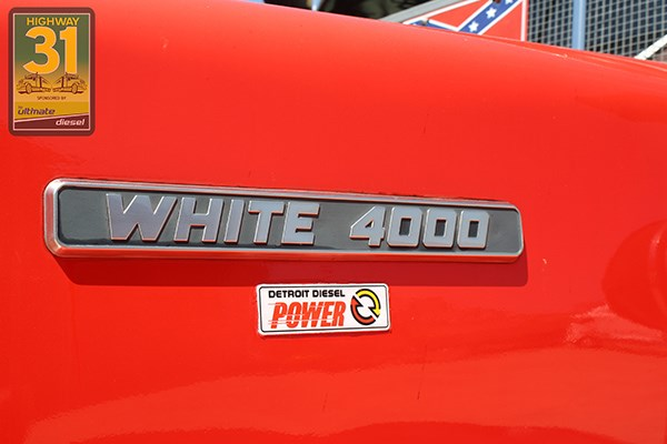 The name says it all; this 4000 is powered by a Detroit 8V71NA donk.