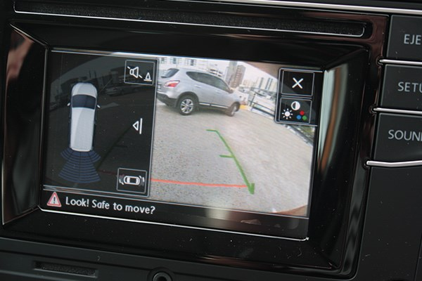 The reverse camera and parking senor package is a sensible option box to tick.