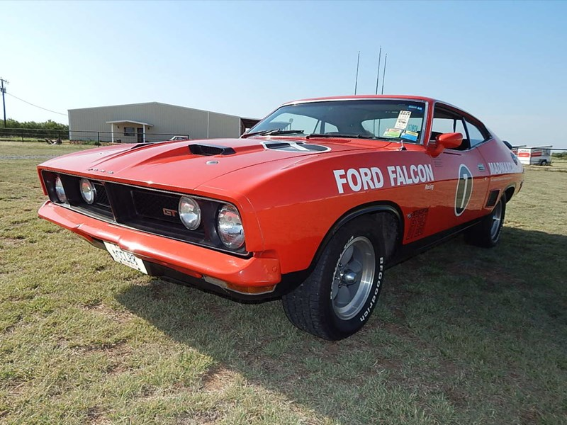 xb falcon in the usa front side
