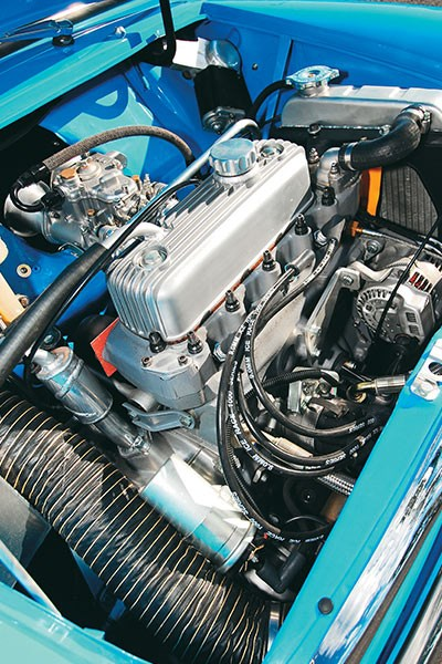 mini cooper s racer engine bay b