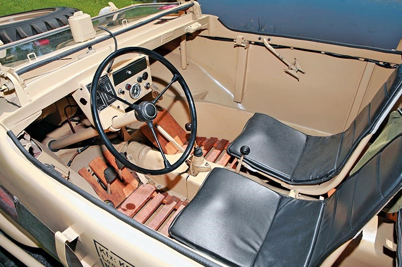 volkswagen type 166 interior