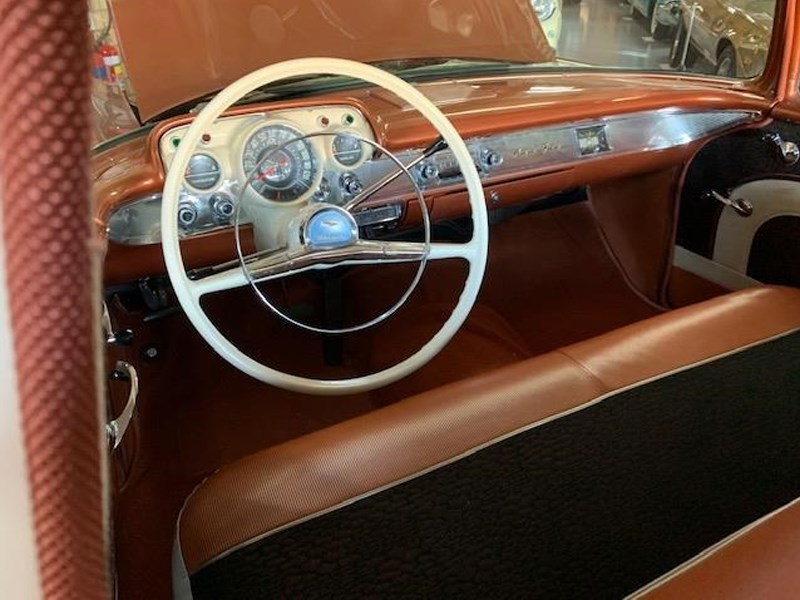57 Bel Air interior