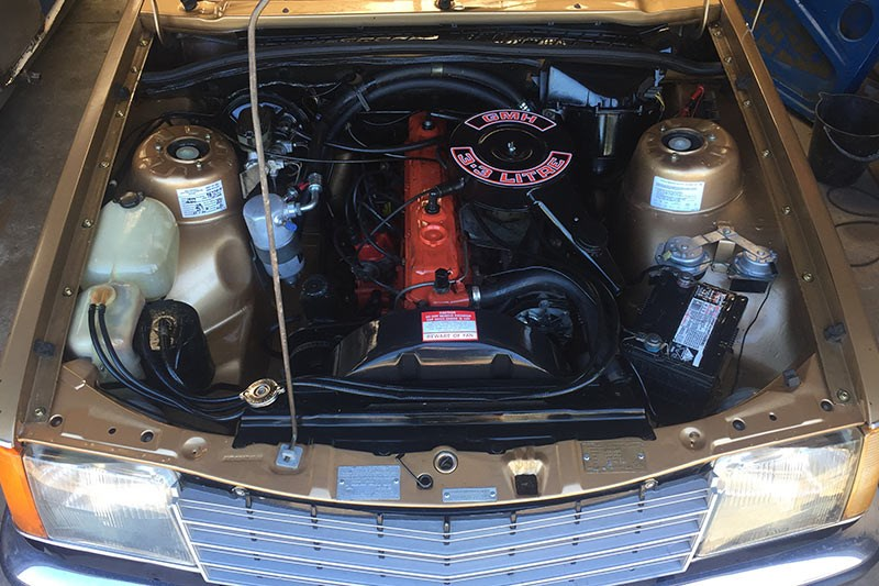 holden vb commodore engine bay