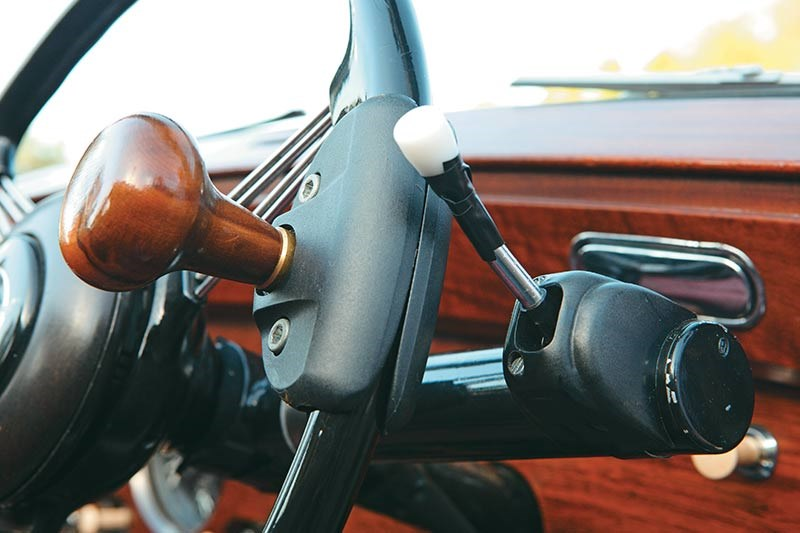 alvis steering wheel controls