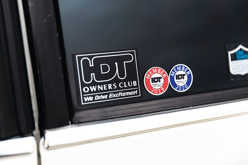 hdt vc commodore stickers