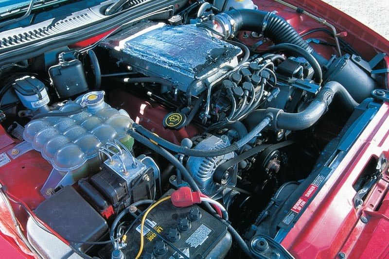 tickford engine bay
