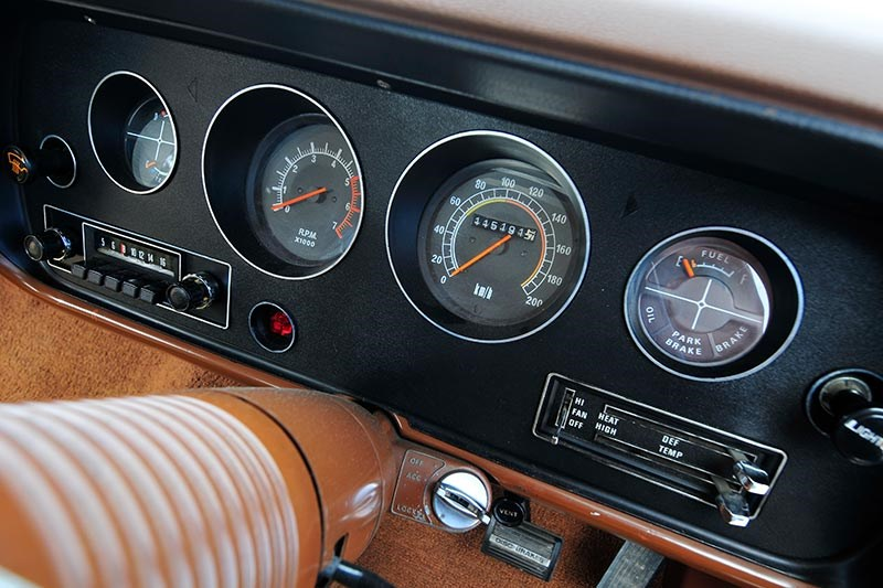 chrysler cl charger dash