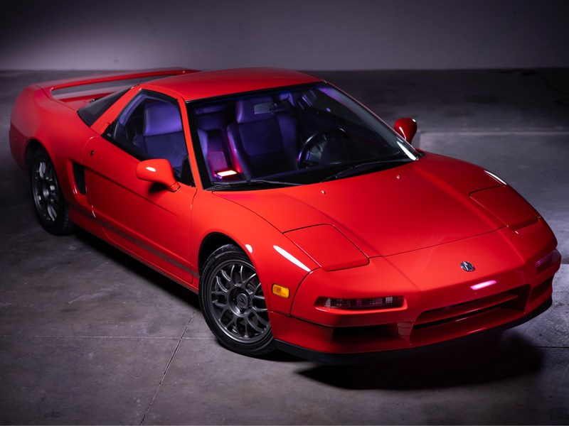 NSX BaT front side