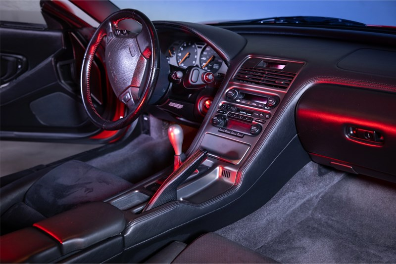 NSX BaT interior