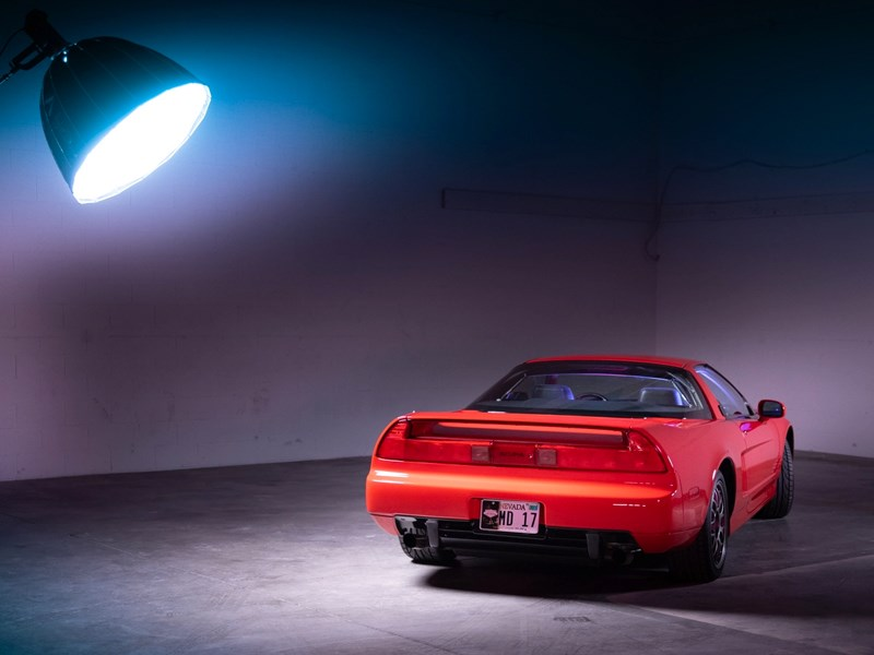 NSX BaT rear side