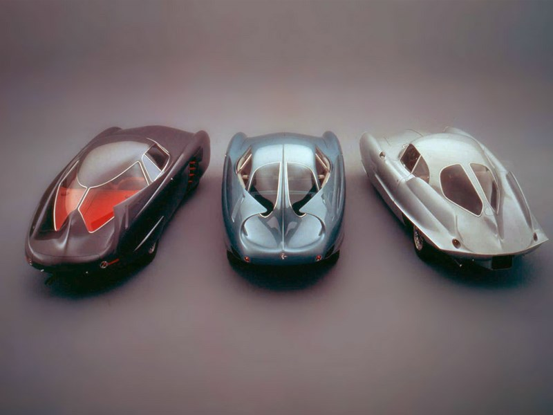 Bertone Bat mobiles rear