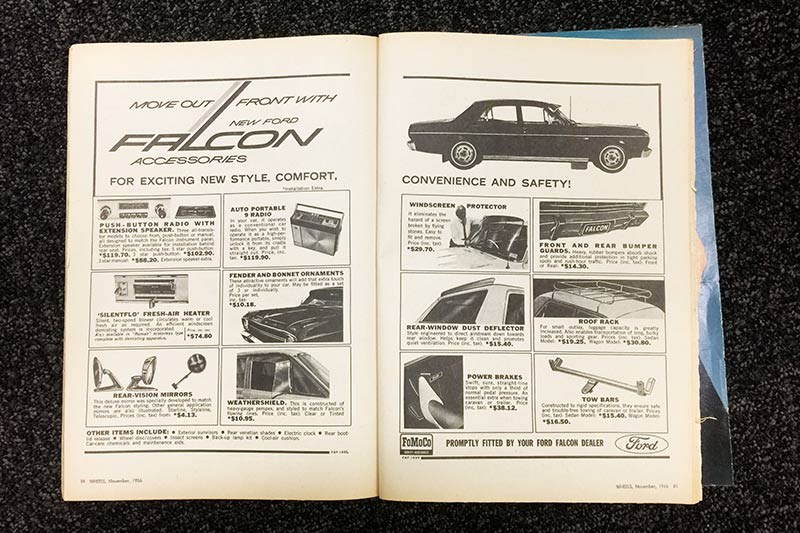 ford xr falcon book
