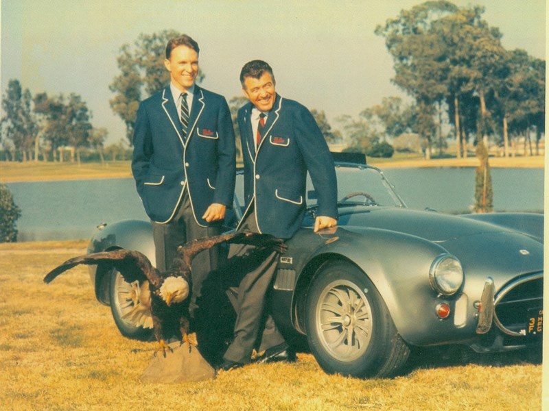 Shelbys Cobra Shelby and Dan Gurney