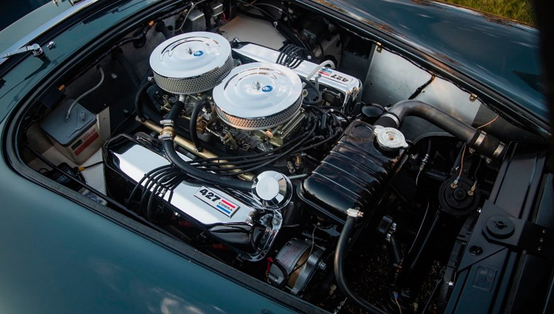 Shelbys Cobra engine