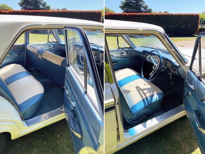 Ford Compact Fairlane interior