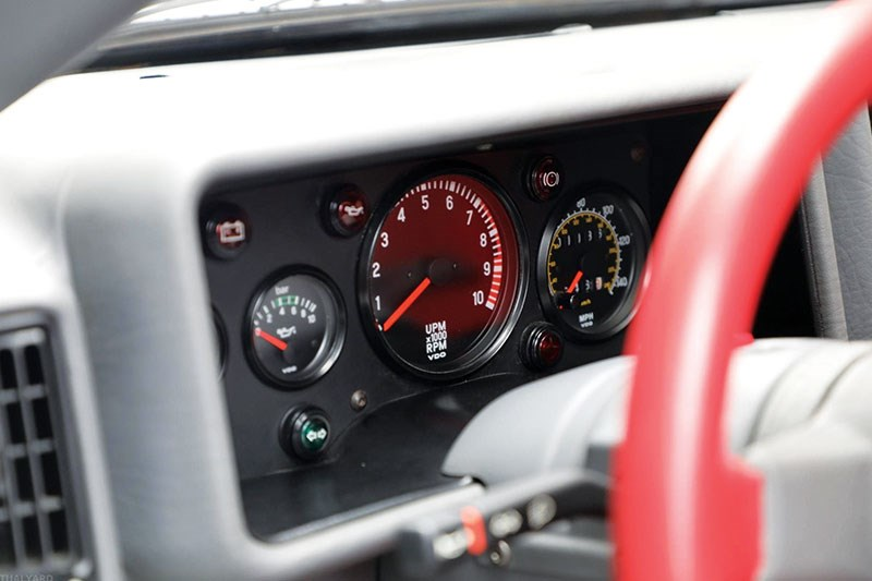 ford rs 200 dash