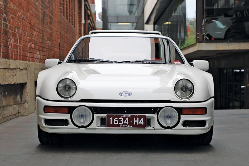 ford rs 200 front
