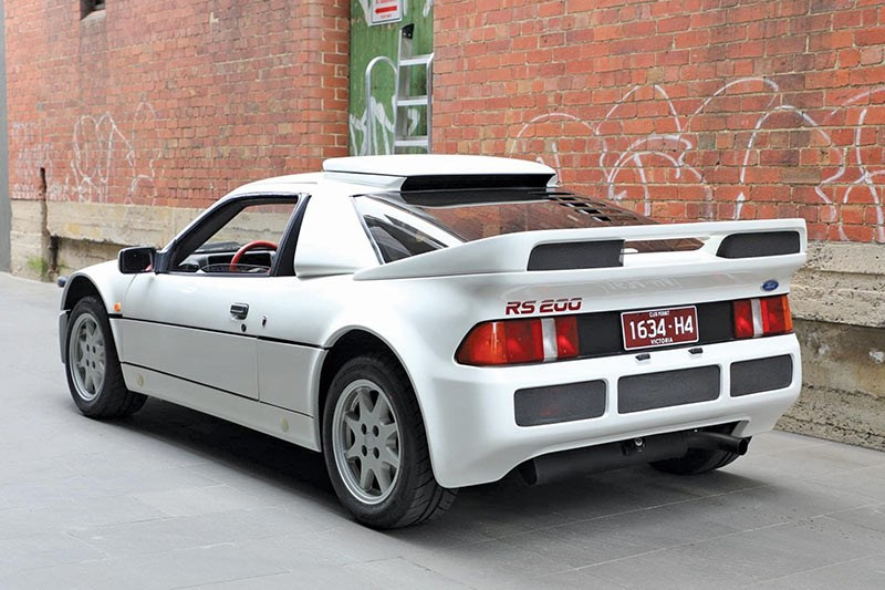 ford rs 200 rear