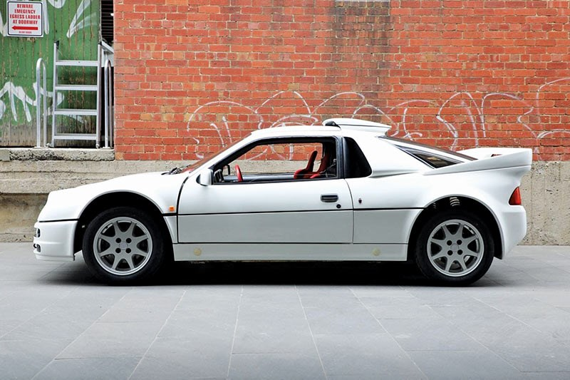 ford rs 200 side