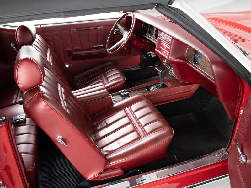 Mercury Cougar Bond interior