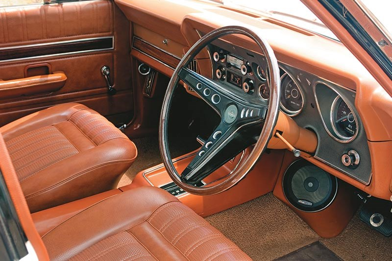 ford falcon six door wagon interior