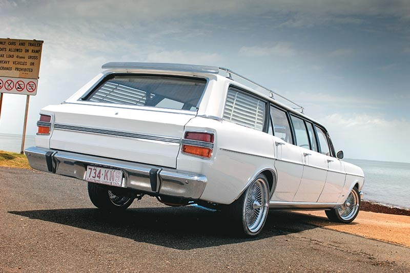 ford falcon six door wagon rear 2